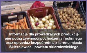 Informacje dla producentów i sprzedawców żywności