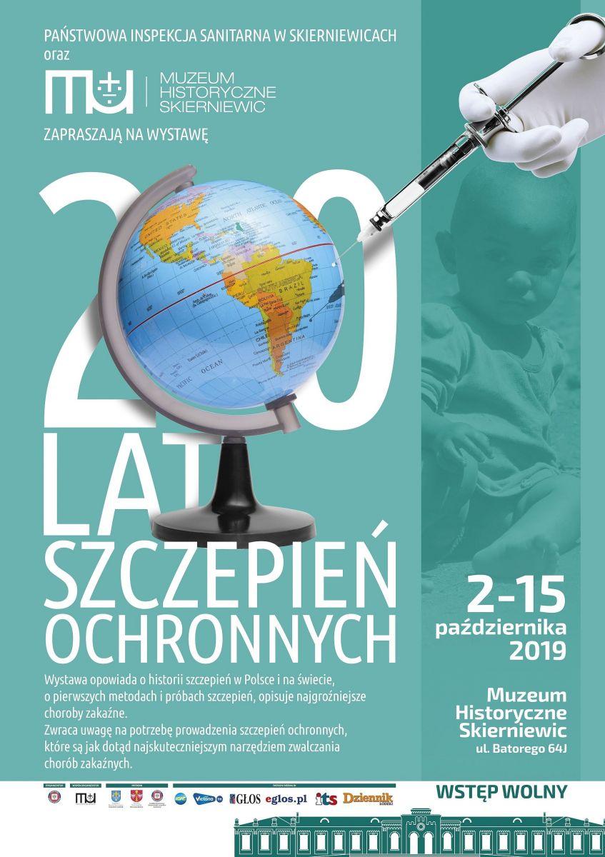 200 lat Szczepień Ochronnych - plakat
